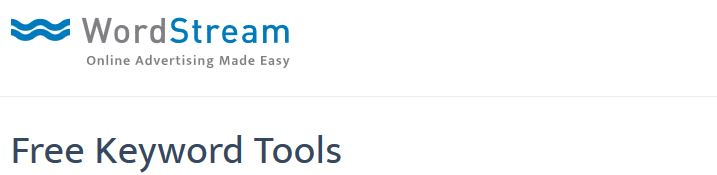 wordstream keyword tools