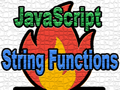 javascript string functions