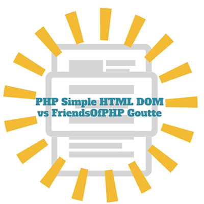 PHP Simple HTML DOM Parser vs FriendsOfPHP Goutte