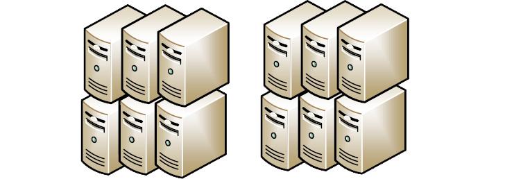 servidores tradicionales