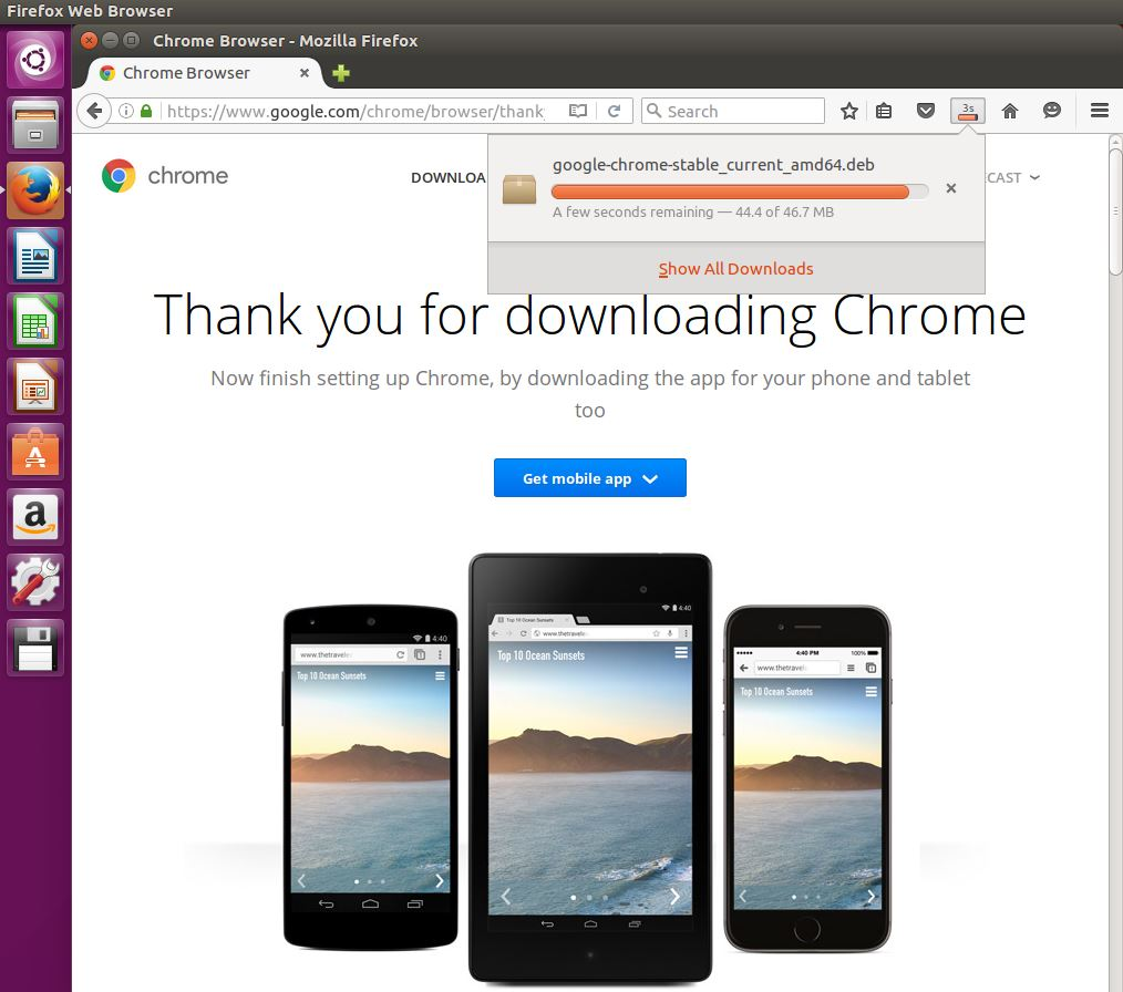 descargar Google Chrome