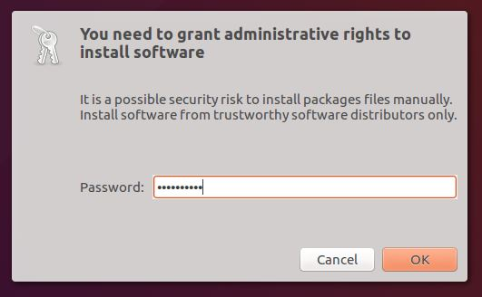 grant administrative rights to install software