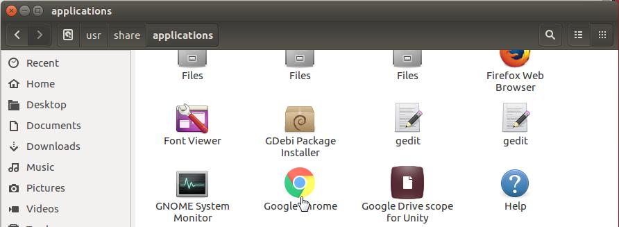 lanzar google chrome en linux
