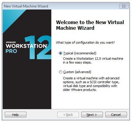 Create An Ubuntu Desktop 64 Bit Virtual Machine in VMware