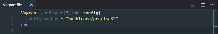 vagrantfile syntax