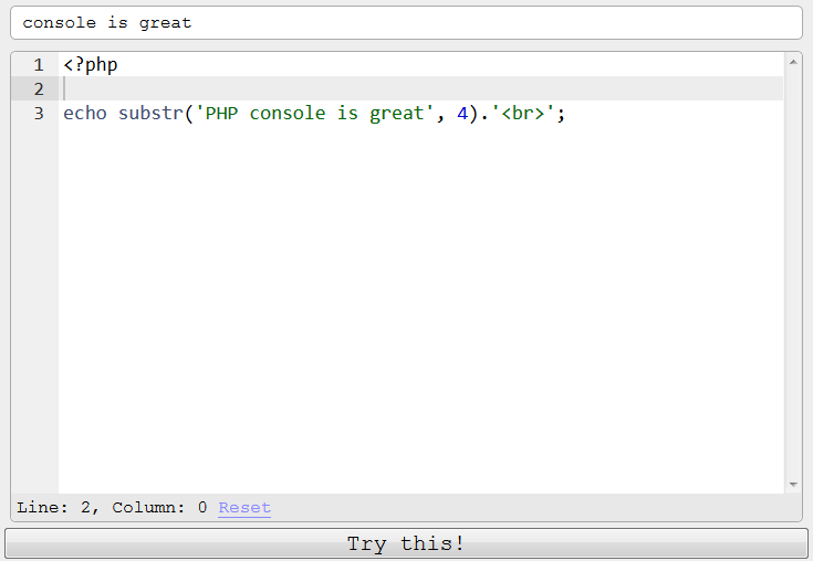 php-console-is-great