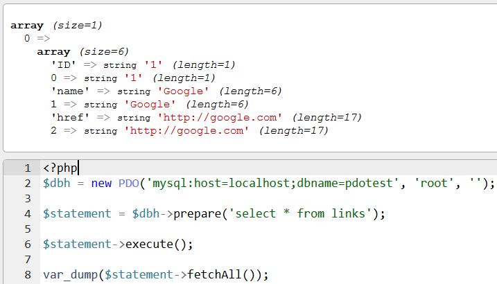 seleccionar-todo-de-base de datos-usando-pdo