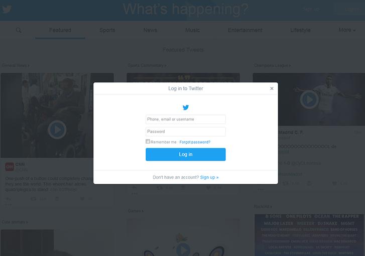 twitter-login-modal
