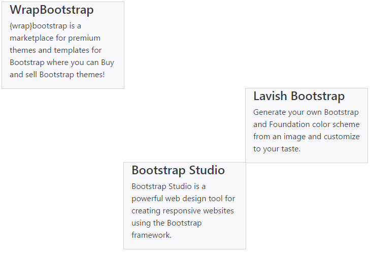 bootstrap-4-horizontal-alignment