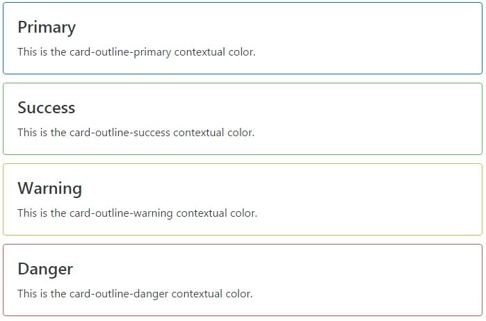 bootstrap-contextual-color-outline-options