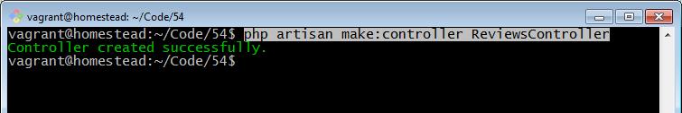 php artisan make controller
