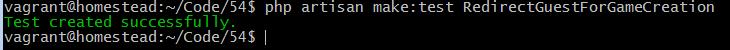 php artisan maketest RedirectGuestForGameCreation