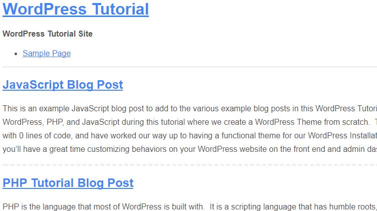 how to create link menu in wordpress