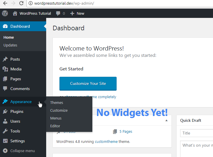 WordPress Widgets Tutorial – Vegibit
