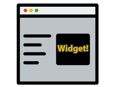 widget de wordpress