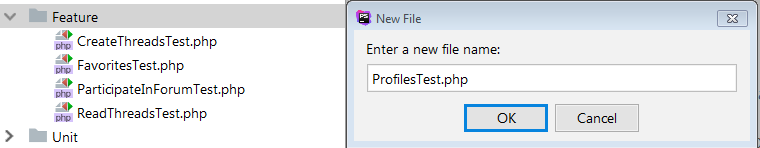 create user profile test class
