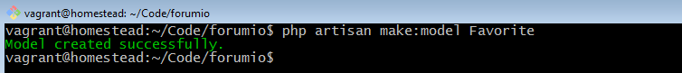 generate new model class example