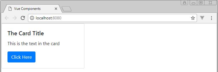 html representado por vue