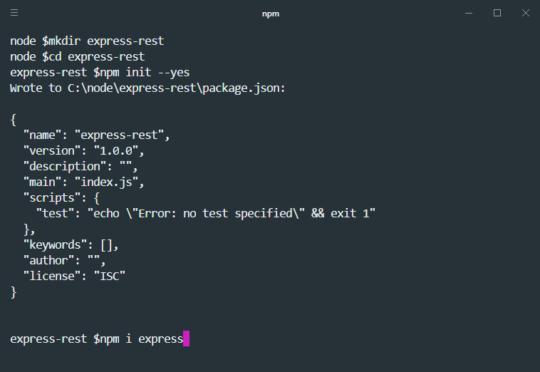 Node js Express Rest Api Tutorial – Vegibit