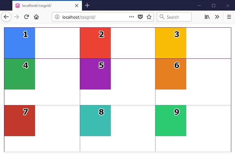 grid-auto-rows example