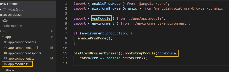 app module angular