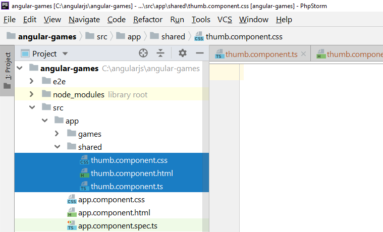 nested component in shared directory