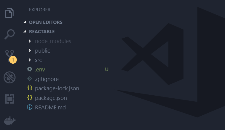 react application folder structure