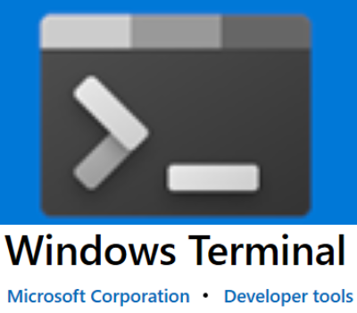 New Windows Terminal