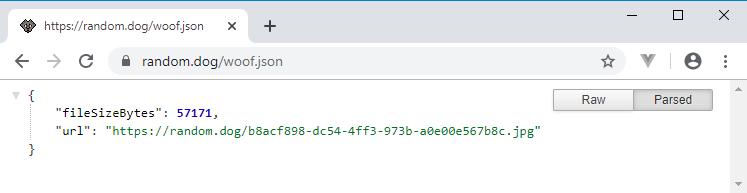 json api to parse with python