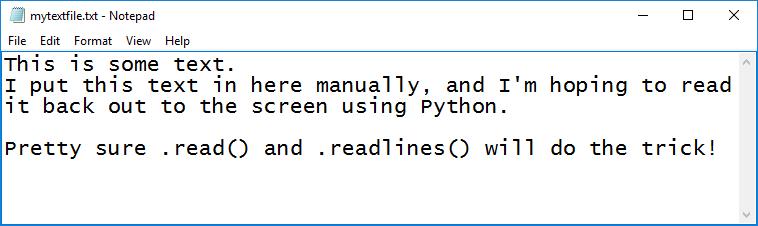 python read and readline