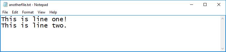 python multi line file write