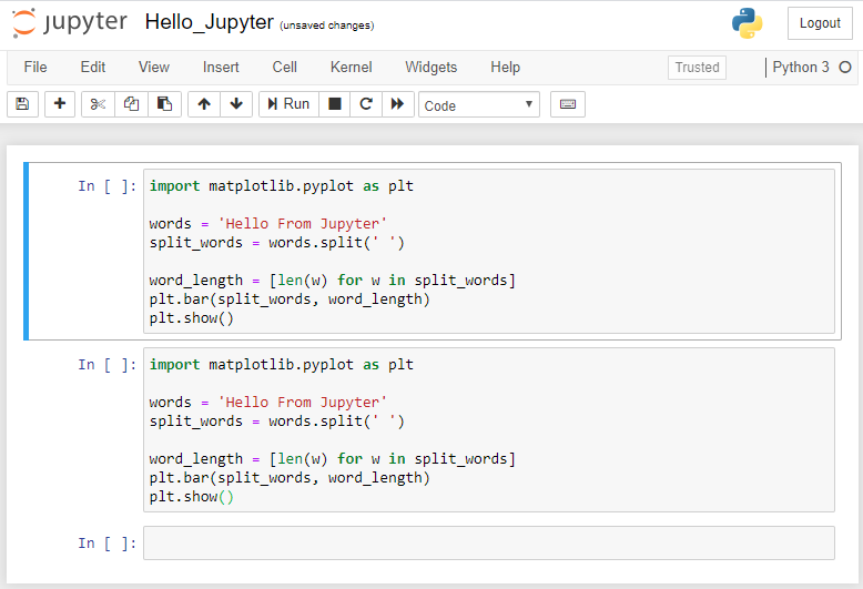 modo de comando jupyter copiar pegar