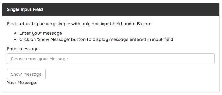 selenium select text input click button