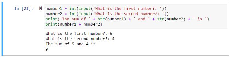 python input int str