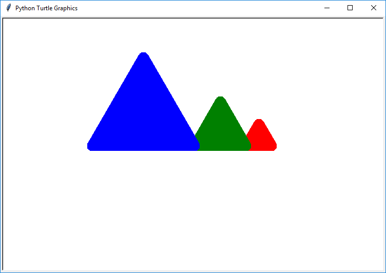 Draw Multiple Shapes With Different Colors