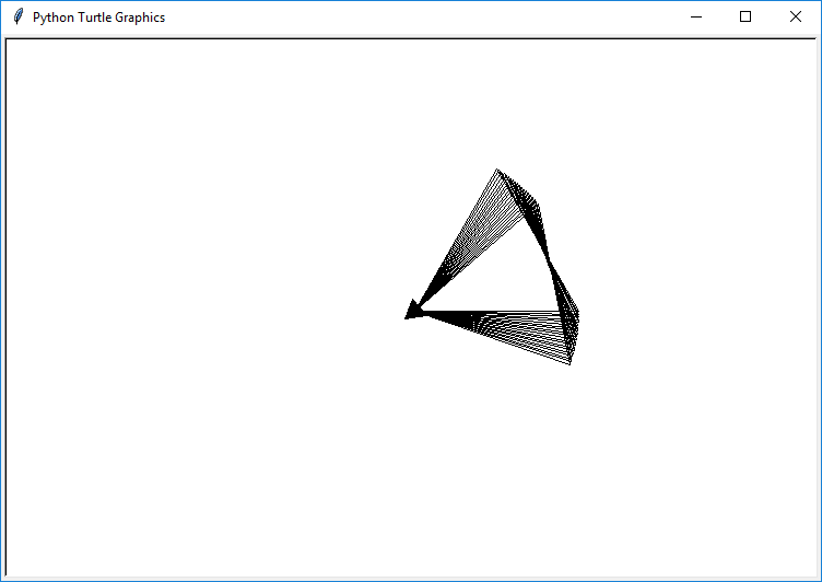 triangles in loops python