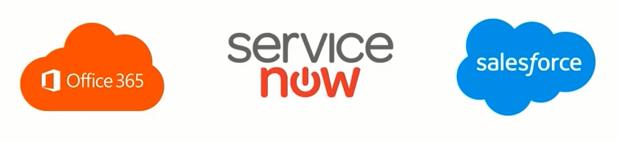 office 365 service now salesforce