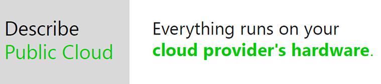 public cloud concept