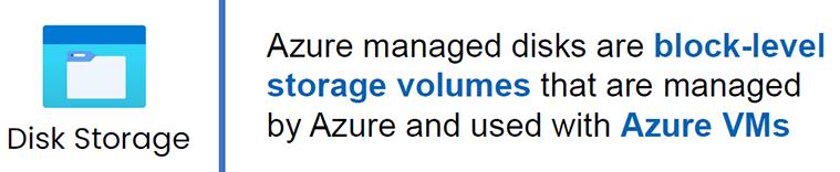 azure disk storage